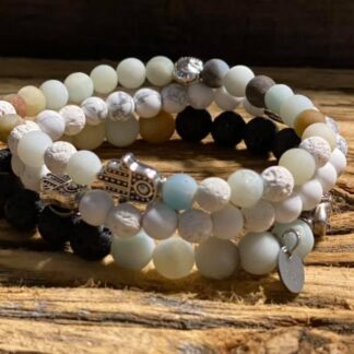 Aromatherapy bracelets and necklaces